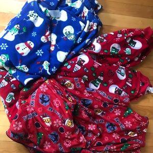 Size XL boys pajama lot